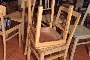 Stühle fürs Klassenzimmer